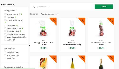 Webdesign: Oxfam - Website Creatie