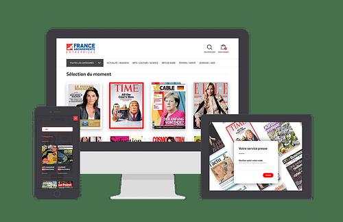 Portail France Abonnements Entreprises - E-commerce