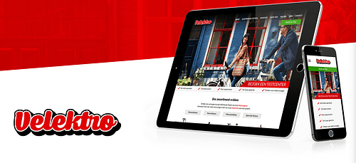 Velektro - Website Creatie