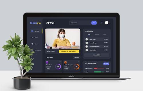 Learnyu | Application Web - Application mobile