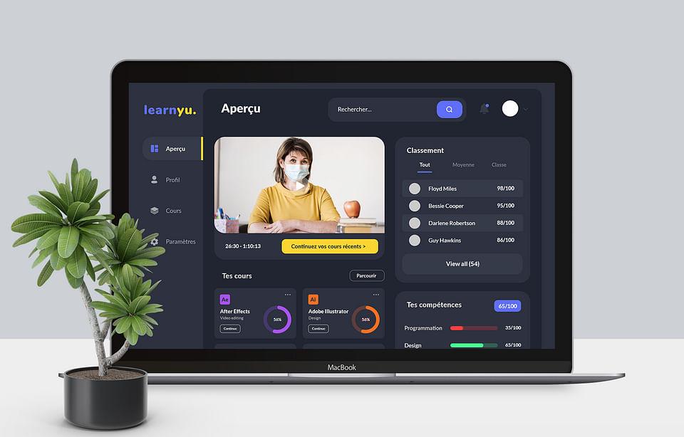 Learnyu | Application Web