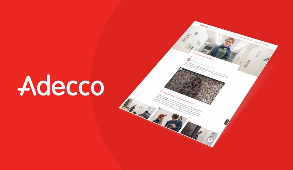 Adecco | Maatwerk content- en campagneplatform