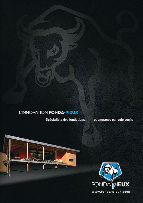 Catalogue produit Fonda-pieux - Publicité