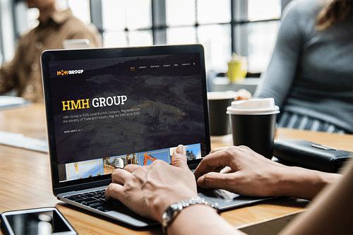 H.M.H. Group Iraq Website - Website Creation
