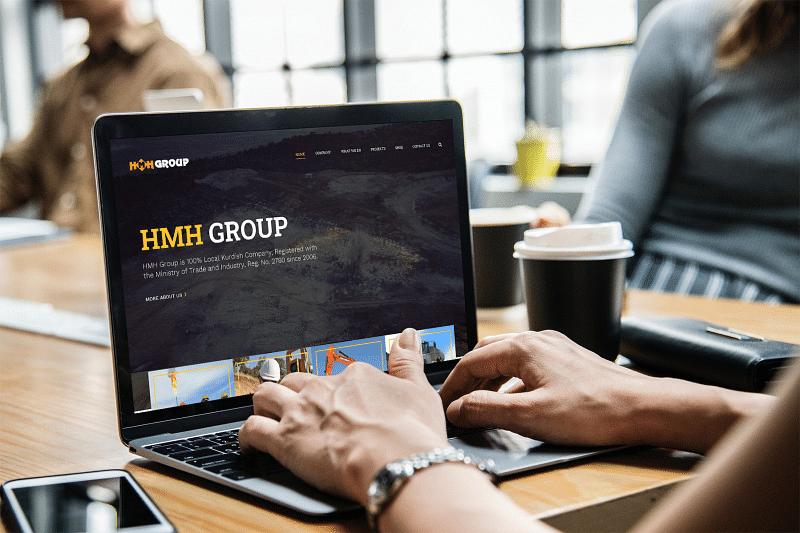 H.M.H. Group Iraq Website