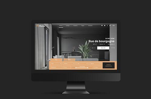 Site internet pour une agence immobilière - Création de site internet