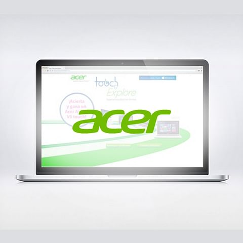 Acer Spain Experiential campaign