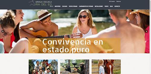 Granja Escuela Ría del Eo - Estrategia digital