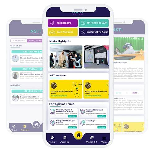 NSTI Festival (MOE UAE) - Mobile App
