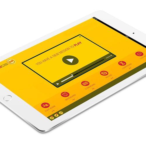 Digital dashboard for Global Distribution - Graphic Design