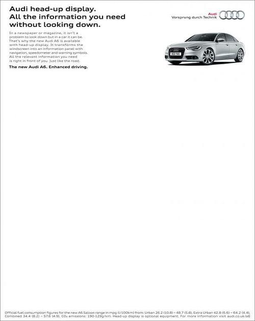Head-up Display - Advertising