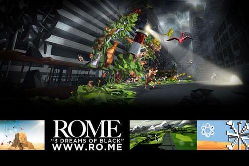 ROME - 3 Dreams of Black, 1 - Advertising