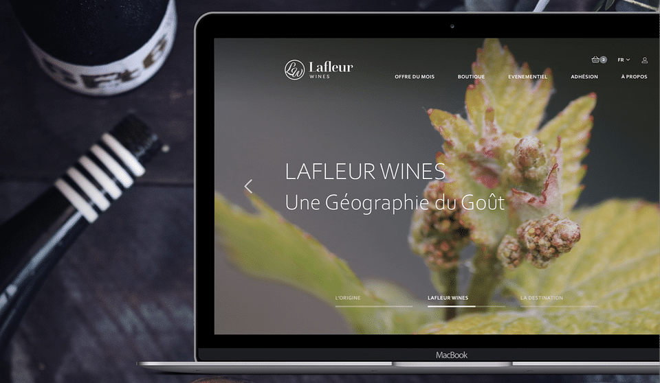 La Fleur website