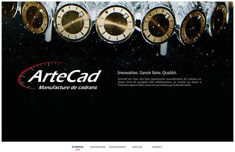 ArteCad SA - Site Internet