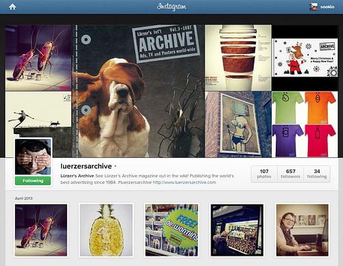 Social media for Luerzer's Archive - Social Media