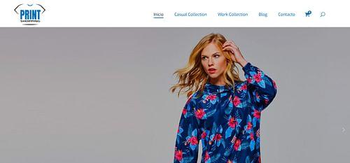 Tienda online de ropa personalizada - Creación de Sitios Web