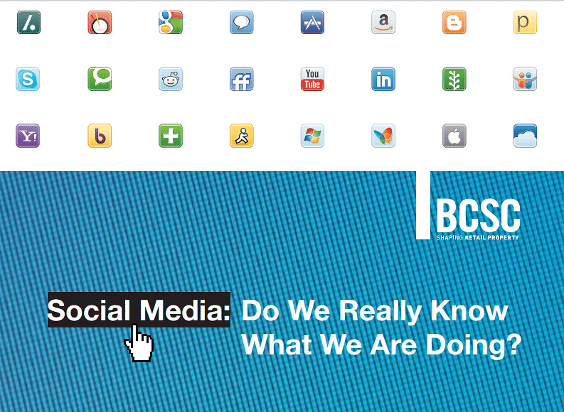 Industry study into best practice in Social Media