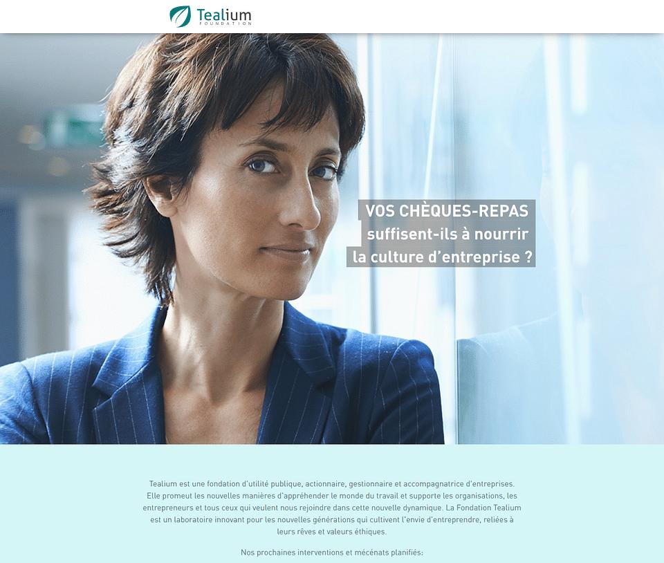 Fondation Tealium : centrée sur l'humain