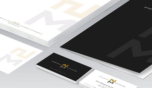 Imagen corporativa para ENERGIA STUDIOS - Branding y posicionamiento de marca