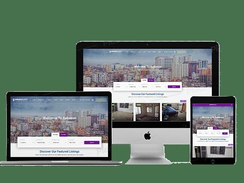 Complete Web Solution For Real estate Market Place - Website Creation