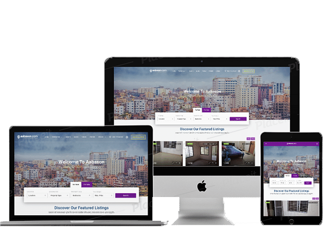 Complete Web Solution For Real estate Market Place