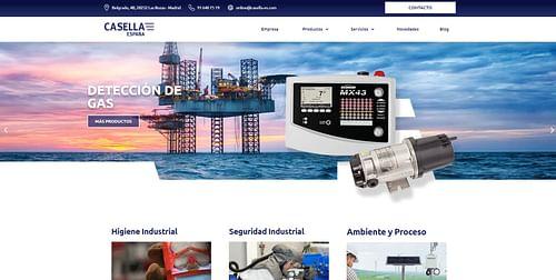 Web y SEO Industrial - Creación de Sitios Web