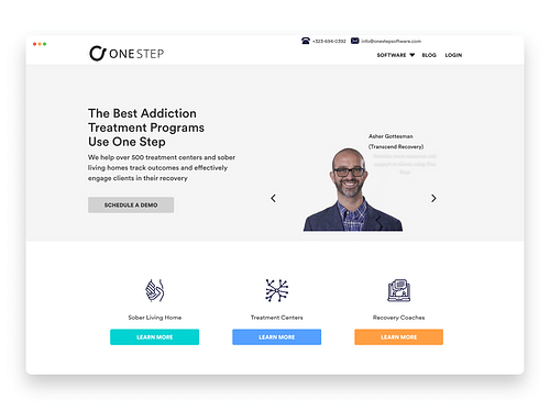 One Step Software - Mobile App