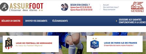 Site Ecommerce pour assurer le Risque Sportif - E-commerce