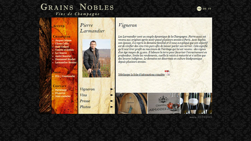 Grains Nobles