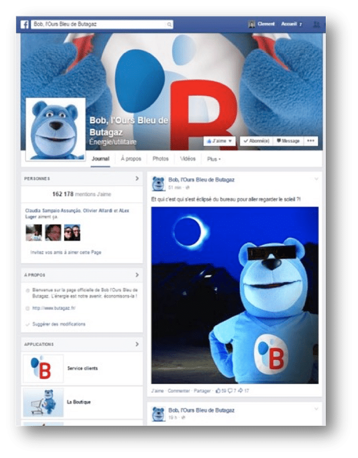 Butagaz : Social media