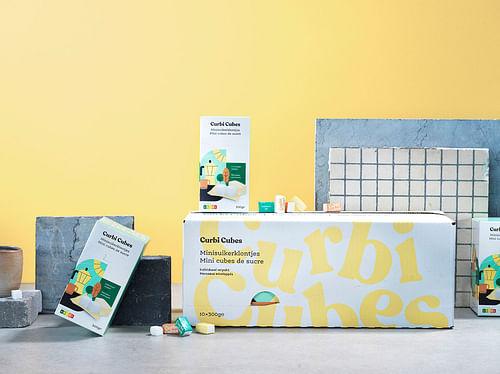 Curbi Cubes - Branding & Positionering