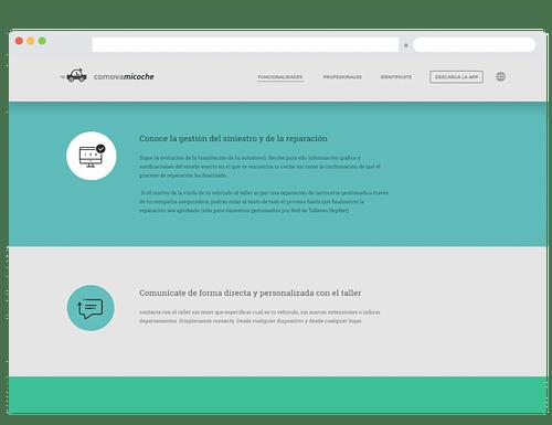 Cómovamicoche - Aplicación Web