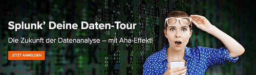 Splunk' Deine Daten-Tour – Roadshow mit Channel... - Event