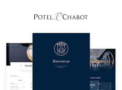 Potel Chabot - Conception UX/UI Solution Web - Création de site internet
