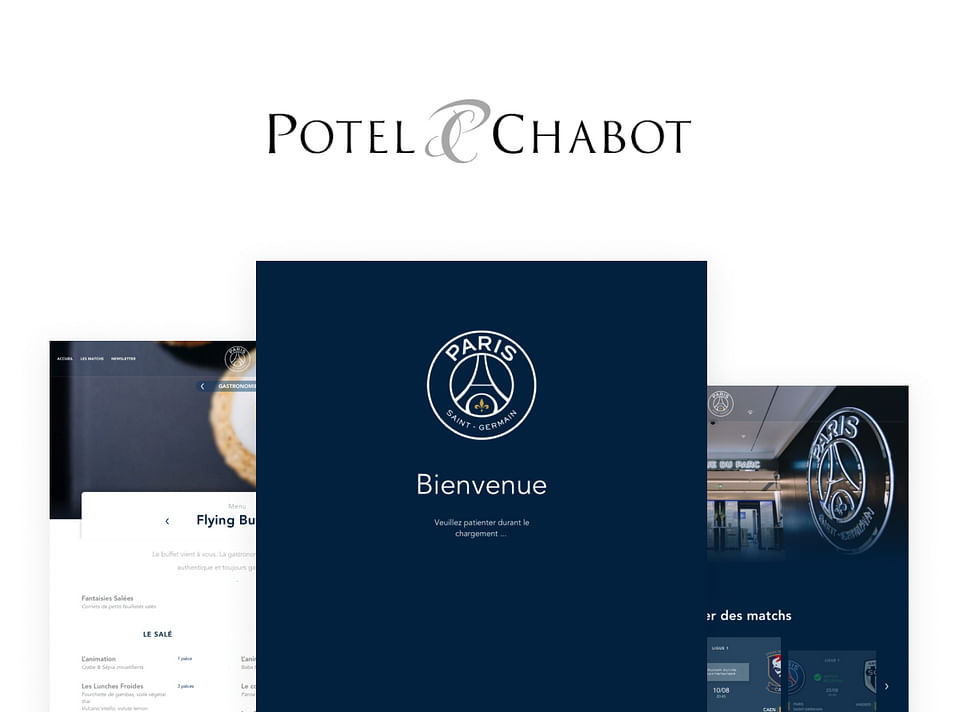 Potel Chabot - Conception UX/UI Solution Web