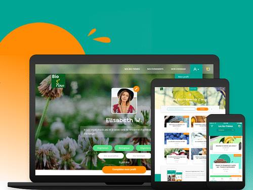 Bio C' Nous - Application et Site Web - Application mobile
