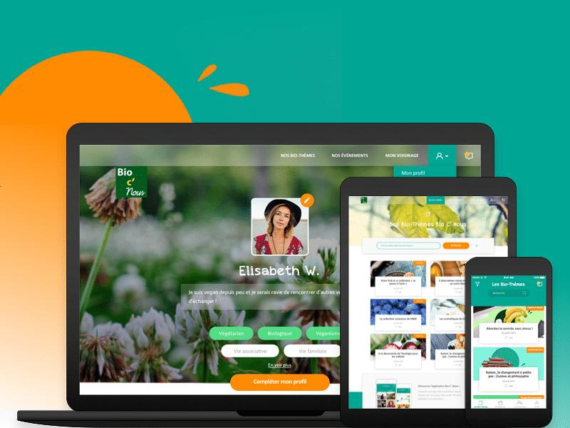 Bio C' Nous - Application et Site Web