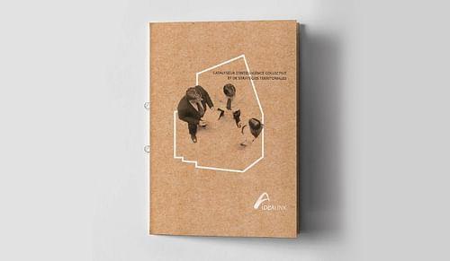 IdeaLink - Brochure porte-documents deux en un - Design & graphisme