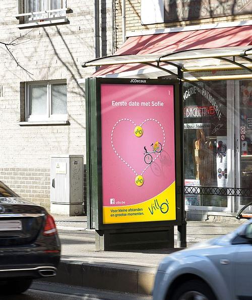 Decaux. Campagne Villo - Image de marque & branding
