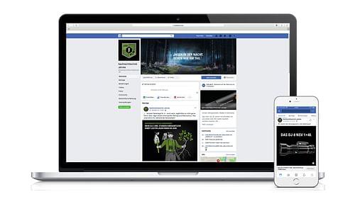 Nachtsichttechnnik Jahnke - Social Media