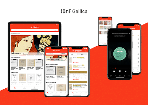 BNF: Application Gallica - Application mobile