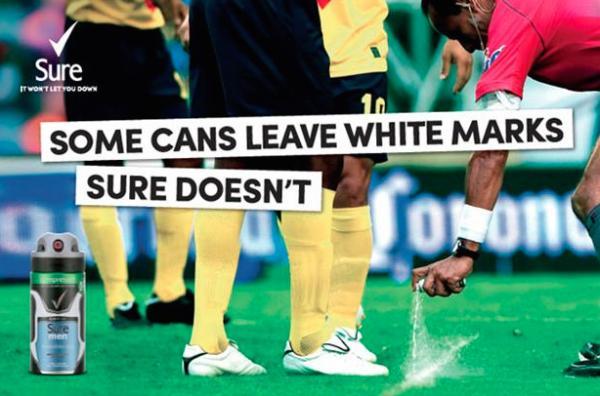No White Marks