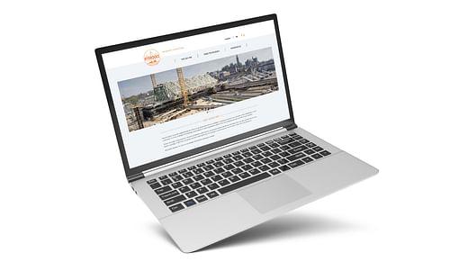Hydrockx website - Ontwerp