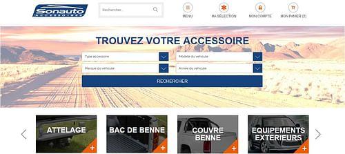 Sonauto Accessoires - E-commerce