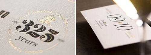 Cinoco 325 Years - Image de marque & branding