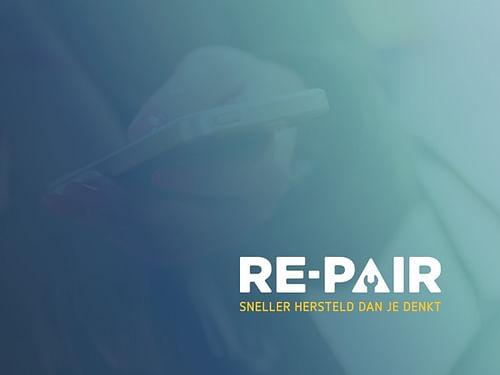 Online platform for repair of electronics - Website Creatie