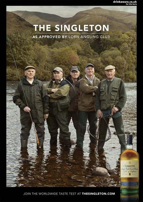 Angling club - Advertising