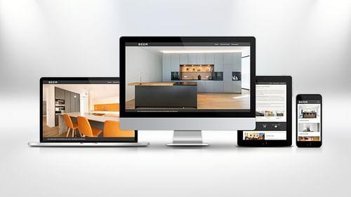 BEER GmbH – Bayerische Eleganz - Webseitengestaltung