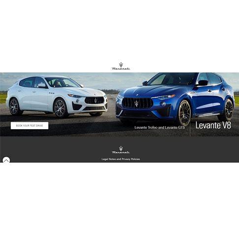 Maserati Oman Digital Campaign - Advertising