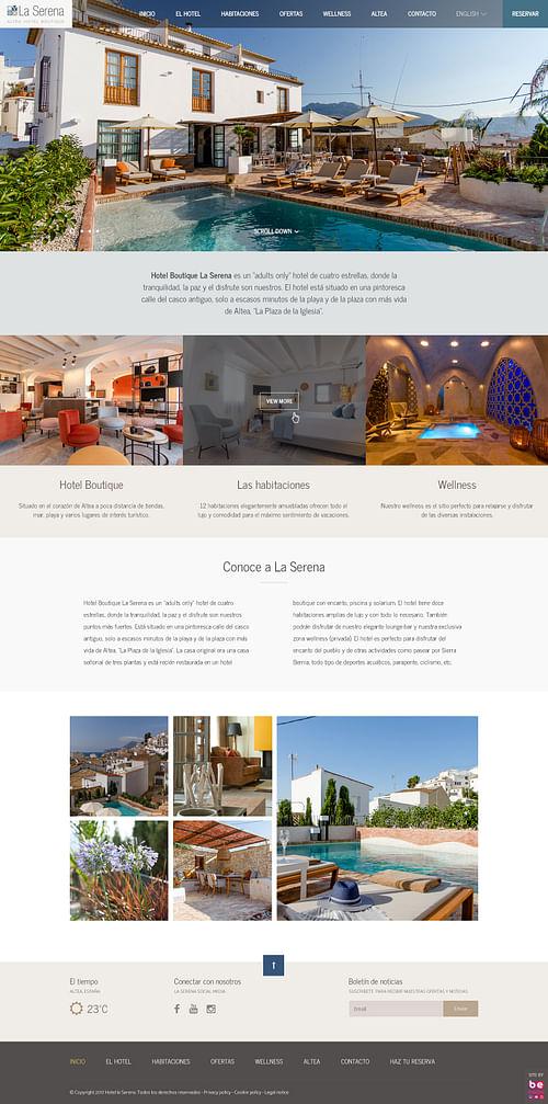 Página Web Hotel La Serena Altea - Fotografía